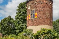 Das einzige Relikt was noch von der ehemaligen Burg Davensberg erhalten ist