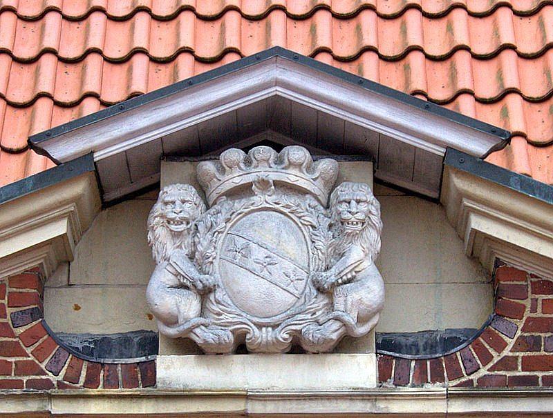Haus Borg   Rinkerode - Wappen derer von Kerckerinck zur Borg