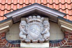 Haus Borg | Rinkerode - Wappen derer von Kerckerinck zur Borg