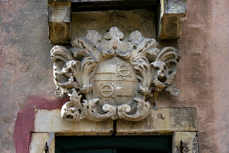 Haus Itlingen - von Nagel-Wappen