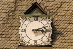 Schloss Westerwinkel | Turmuhr am Nebengebäude