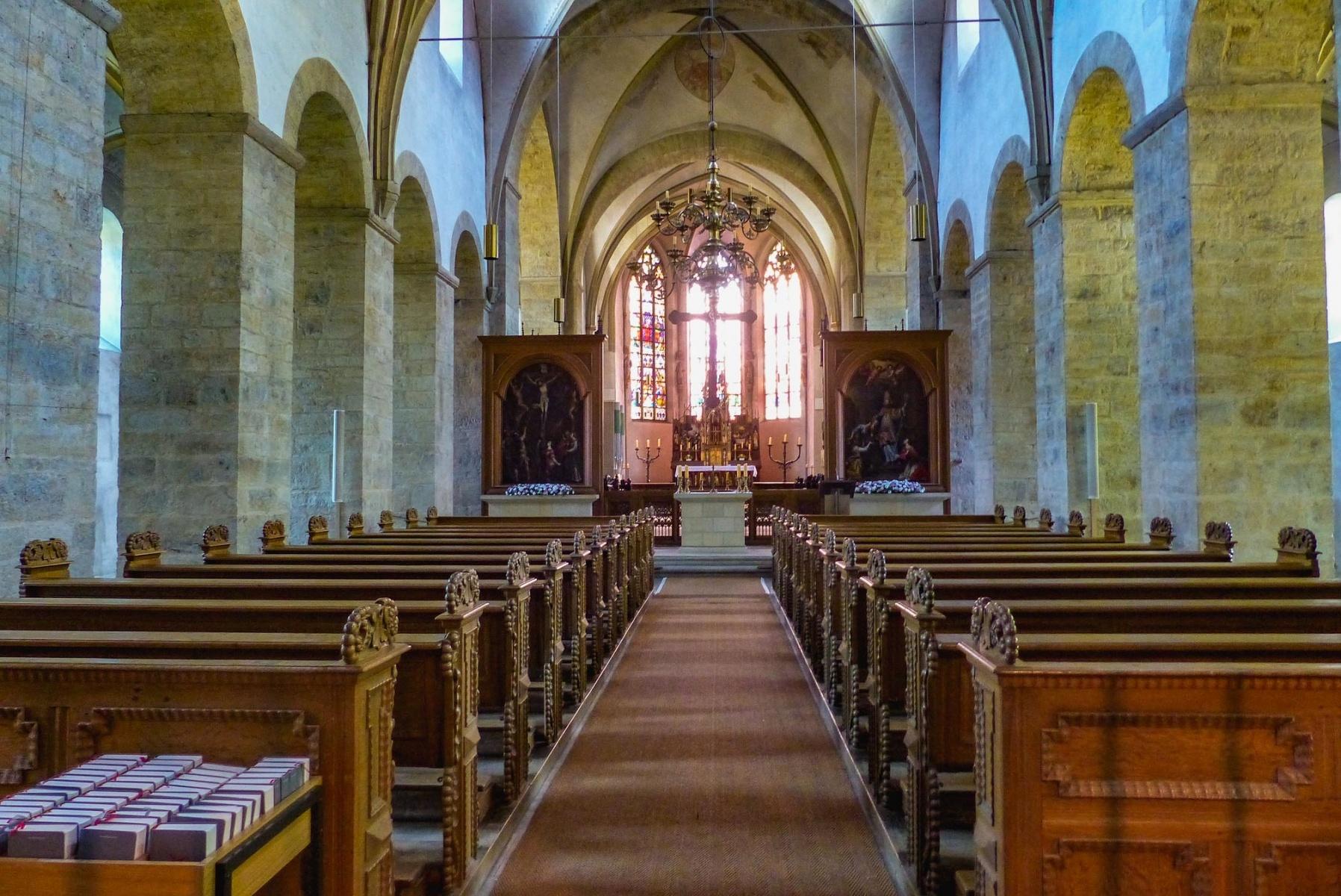 Schloss Cappenberg | Stiftskirche - Innenansicht