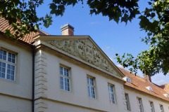 Schloss Cappenberg | Hauptportal Innenhof
