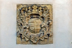Schloss Cappenberg | Wappen am Hauptportal Innenhof