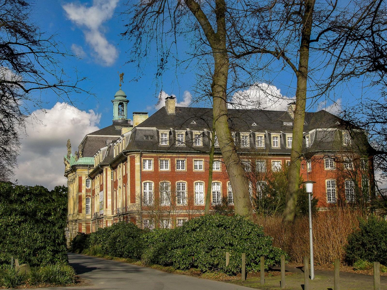 Fürstbischöfliches Schloss Münster | Rückseite