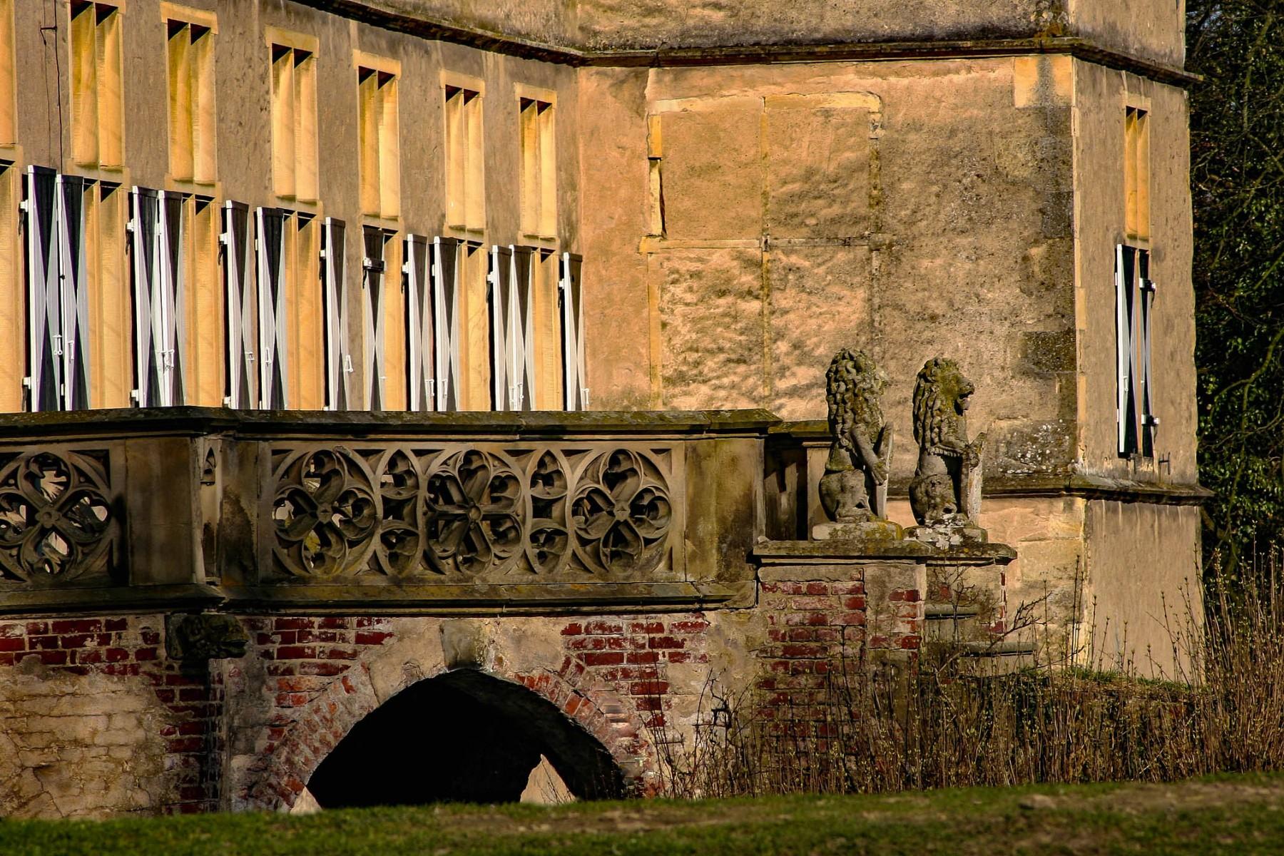 Schloss Westerwinkel   Terasse