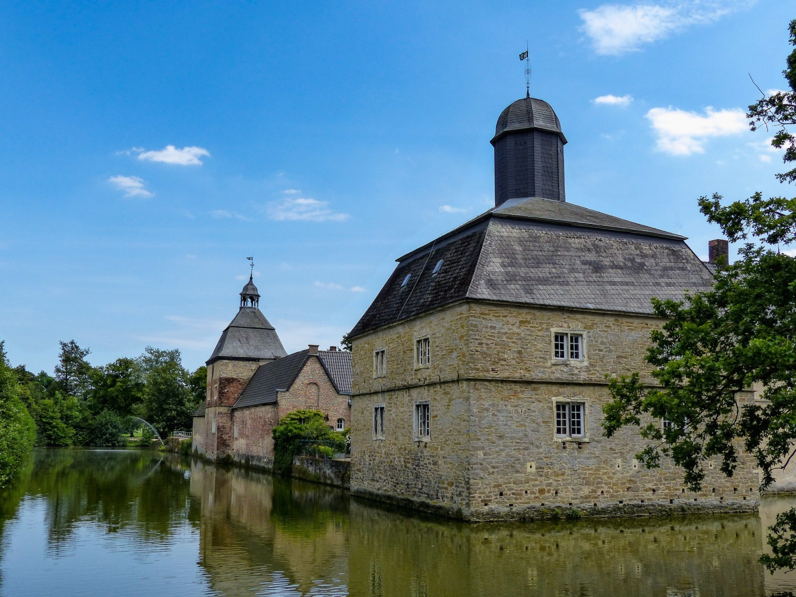 Schloss Westerwinkel   Vorburg