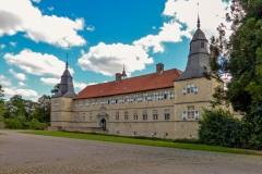 Schloss Westerwinkel | Hauptschloss vom Innenhof