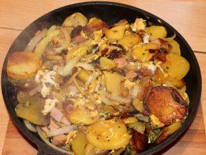 Westfälische Bratkartoffeln