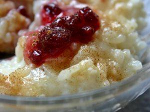 Reis-Nachtisch